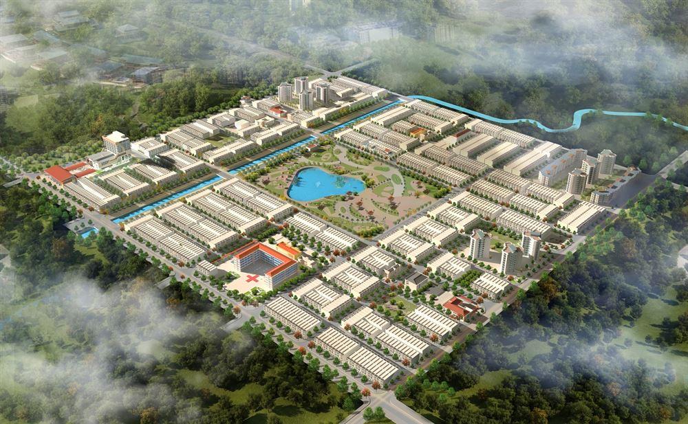 Dự án Đầu tư xây dựng đường Thống Nhất kéo dài đến KĐT sinh thái và từ nút giao đường Thống Nhất đến cầu Du Tán (Thiên Lộc Lakeview)