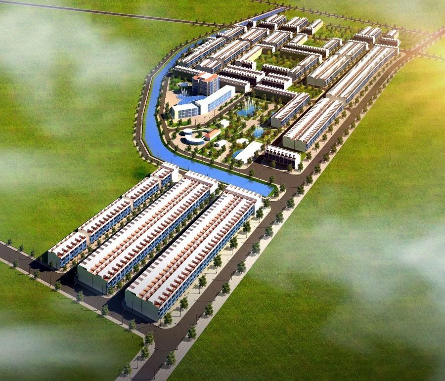 Dự án đầu tư xây dựng đoạn đường Thống Nhất và hạ tầng kỹ thuật khu dân cư tại phường Thắng Lợi, thành phố Sông Công, tỉnh Thái Nguyên