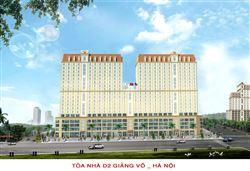 Công trình tòa nhà D2, Giảng Võ, Hà Nội