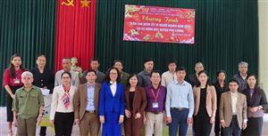 Công ty CP Đầu tư Xây dựng Thiên Lộc trao quà Tết Canh Tý 2020 cho các hộ gia đình có công, hoàn cảnh khó khăn xã Động Đạt, H.Phú Lương, T.Thái Nguyên