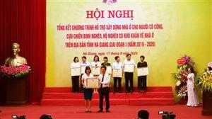 Công ty CP Đầu tư Xây dựng Thiên Lộc được Chủ tịch UBND tỉnh Hà Giang tặng Bằng khen