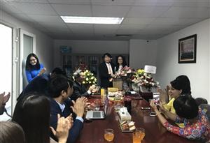 Công ty Cổ phần Đầu tư Xây dựng Thiên Lộc tổ chức gặp mặt chúc mừng chị em nhân ngày Quốc tế phụ nữ 8/3/2019
