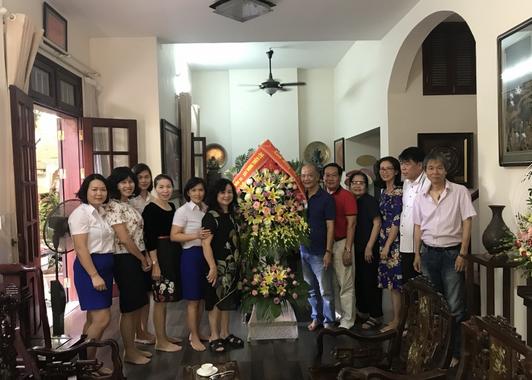 Công ty Cổ phần Đầu tư Xây dựng Thiên Lộc mừng thọ Giáo sư, Anh hùng lao động Vũ Khiêu sang tuổi 104