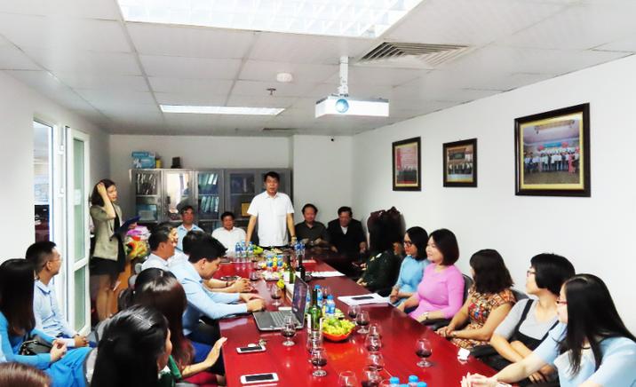 Công ty Cổ phần Đầu tư Xây dựng Thiên Lộc tổ chức gặp mặt chào mừng ngày Phụ nữ Việt Nam 20/10/2019