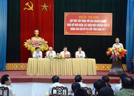 Phó TGĐ Nguyễn Văn Tiến tham dự Hội nghị gặp mặt đối thoại với các doanh nghiệp, tháo gỡ khó khăn, cải thiện môi trường đầu tư, nâng cao chỉ số PCI