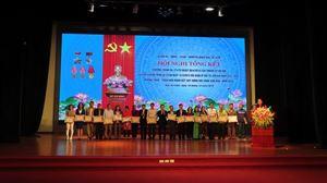 """Công ty Cổ phần Đầu tư Xây dựng Thiên Lộc là """"Doanh nghiệp đạt chuẩn Văn hóa"""" năm 2019 của Quận Bắc Từ Liêm"""