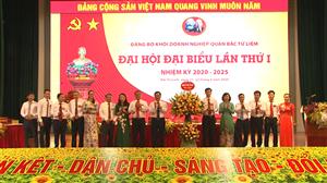 Đồng chí Nguyễn Thị Thanh Trang - Bí thư chi bộ, Phó chủ tịch HĐQT, Phó TGĐ Công ty được bầu vào BCH Đảng bộ khối doanh nghiệp Quận Bắc Từ Liêm nhiệm kỳ 2020-2025
