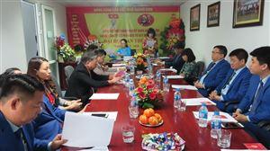 Đại hội chi bộ Công ty Cổ phần Đầu tư Xây dựng Thiên Lộc Lần thứ nhất Nhiệm kỳ 2020-2022