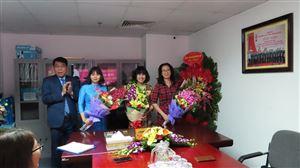 Tổ chức kỷ niệm 110 năm ngày Quốc tế Phụ nữ tại Công ty Cổ phần Đầu tư Xây dựng Thiên Lộc