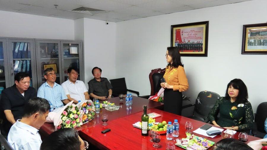 Phó Tổng giám đốc Nguyễn Thi Thanh Trang cảm ơn Ban cố vấn, Ban lãnh đạo Công ty