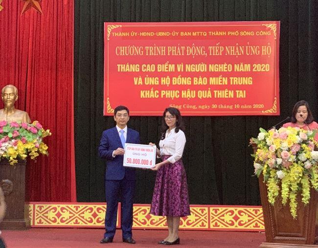 Phát động tháng cao điểm vì người nghèo năm 2020 và ủng hộ đồng bào miền Trung khắc phục hậu quả bão lụt