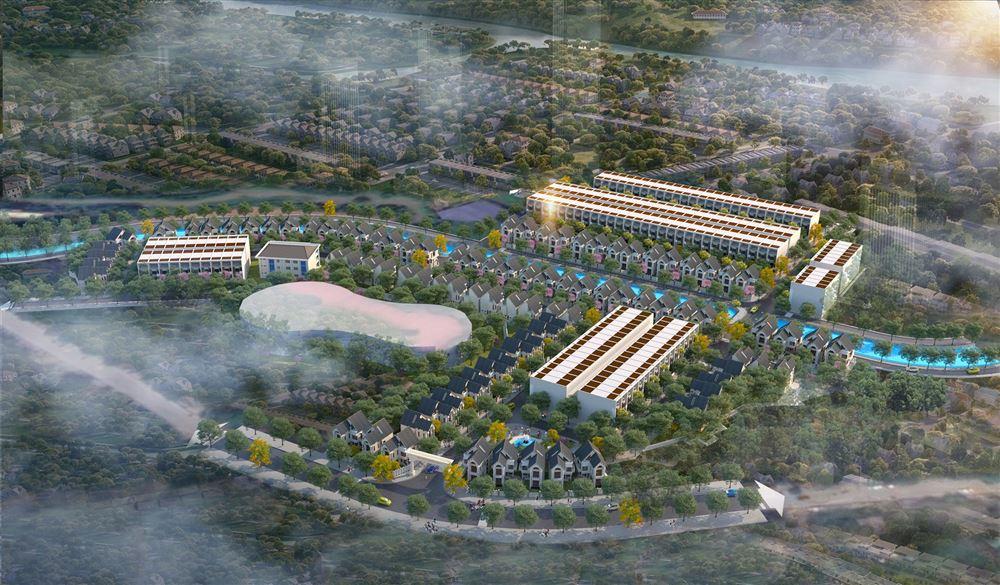 Dự án đầu tư xây dựng Khu dân cư Quang Trung - Quang Vinh, Thành phố Thái Nguyên (Mỏ Bạch Central Hills)