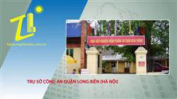 Trụ sở Công an quận Long Biên (Hà Nội)
