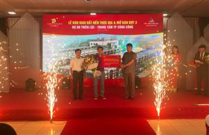 Lễ bàn giao đất nền thực địa và mở bán Đợt 3 Dự án Thiên Lộc - Trung tâm thành phố Sông Công