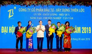 Công ty CP Đầu tư Xây dựng Thiên Lộc tổ chức Đại hội đồng cổ đông thường niên năm 2019 và kỷ niệm Ngày thành lập Công ty