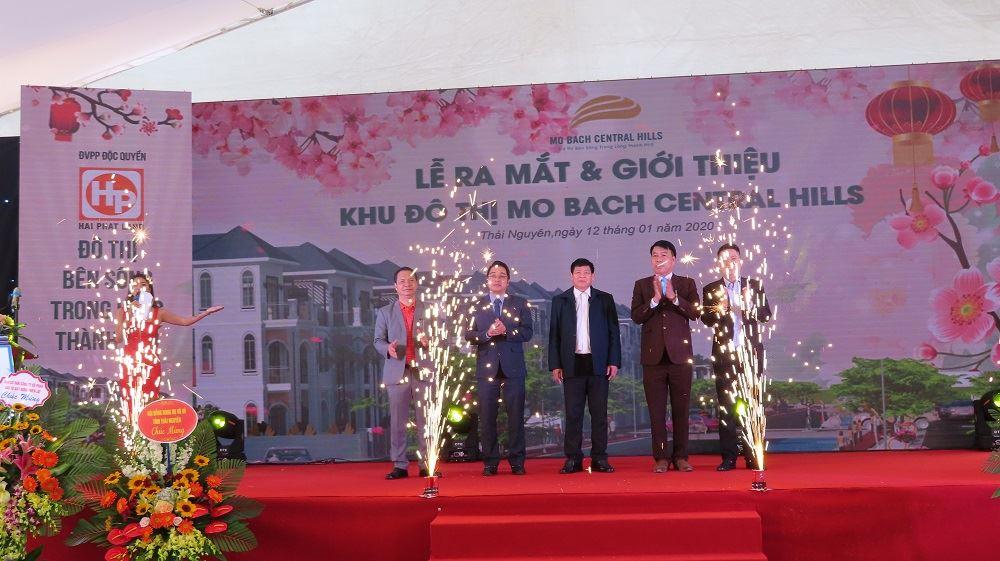 Lễ ra mắt và giới thiệu khu đô thị Mỏ Bạch Central Hills ngày 12-01-2020 tại Thái Nguyên